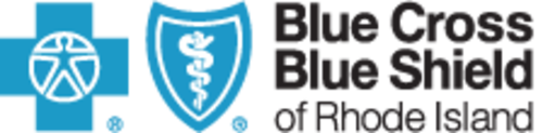 Blue Cross Blue Shield of Rhode Island Logo.