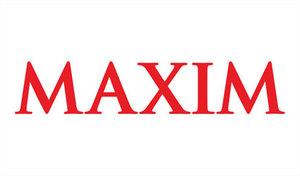 Maxim Logo.